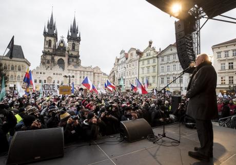 Teze pro vystoupení Václava Klause na Staroměstském náměstí